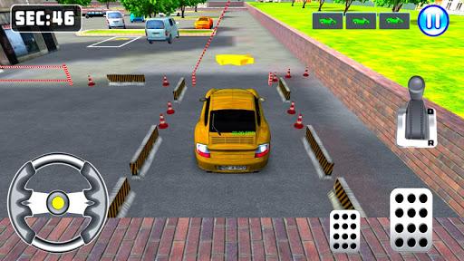 3d sports car parking game screenshot 3