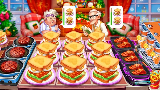 Cooking Frenzy MOD (Unlimited Gems) 4