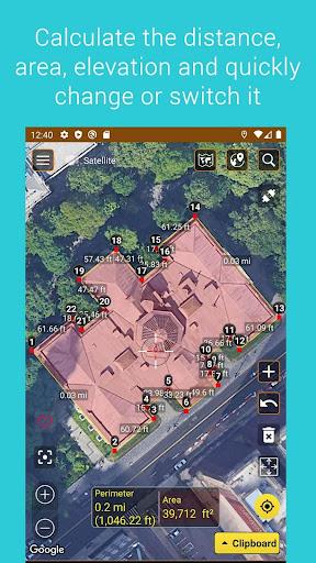 Download APK: Measure map v1.23 [Unlocked]