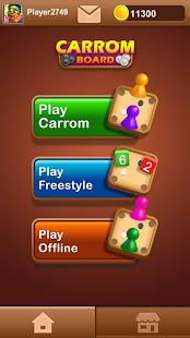 Carrom Board - Carrom Board Game & Disc Pool Game 3.2.1 Screenshots 2