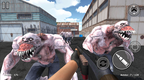Zombie Evil Kill 3 MOD APK (FREEZE ENEMY/GOD MODE) 1