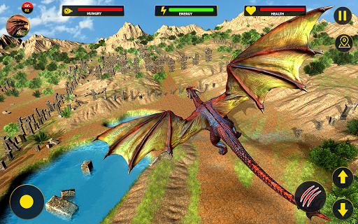 Flying Dragon City Attack 1.0.16 screenshots 2