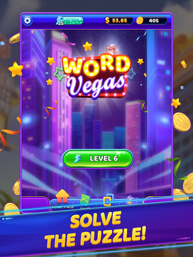 Word Vegas - Free Puzzle Game to Big Win apkpoly screenshots 17