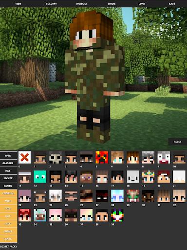 Custom Skin Creator For Minecraft apktram screenshots 13