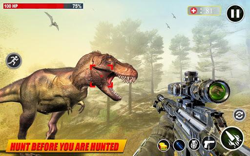 Dino Hunting 3d - Animal Sniper Shooting 2021  screenshots 5