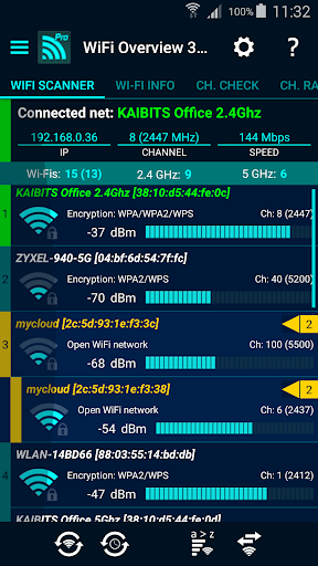Download APK: WiFi Overview 360 Pro v4.68.14 [Paid]