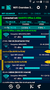 WiFi Overview 360 Pro Screenshot