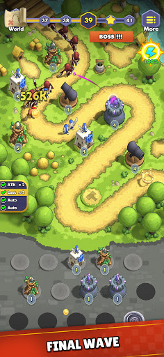 Mini War:Idle Tower Defense Varies with device screenshots 1