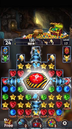 Jewel Mine Quest: Match-3 puzzle 1.1.7 screenshots 6
