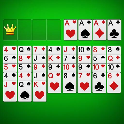 Solitário FreeCell - jogos de cartas clássicos