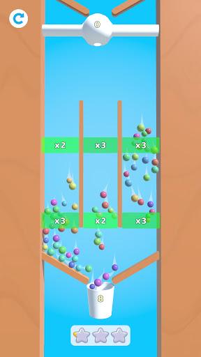 Bounce Balls - Collect and fill  screenshots 1