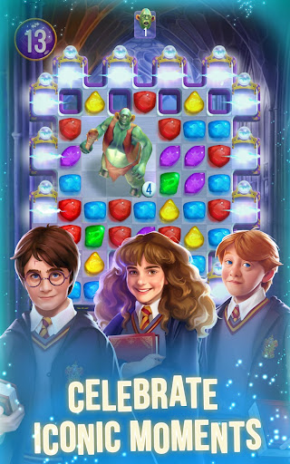 Harry Potter: Puzzles & Spells - Matching Games android2mod screenshots 3