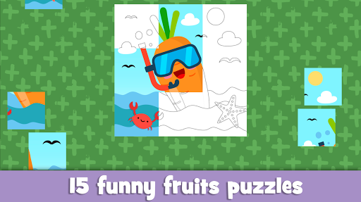 Learn fruits and vegetables - games for kids 1.5.4 screenshots 4