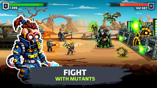 SURVPUNK - Epic war strategy in wasteland  screenshots 1