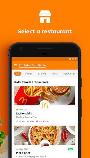 Lieferando.de - Order Food 6.25.0 Screenshots 2