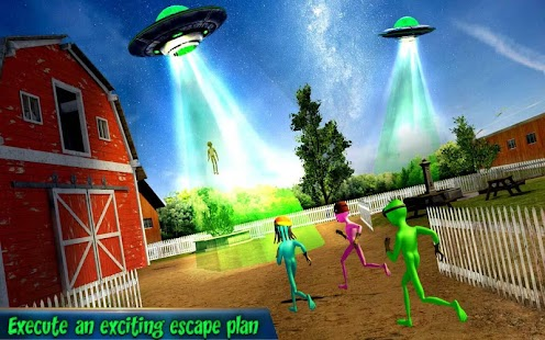 Grandpa Alien Escape Game Screenshot