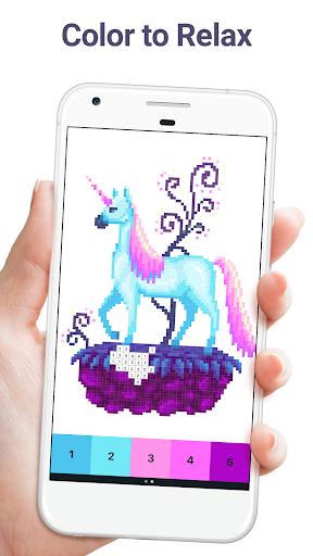 Pixel Art: Color by Number screenshots 1