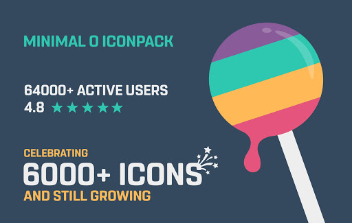 Minimal O - Icon Pack apktram screenshots 1