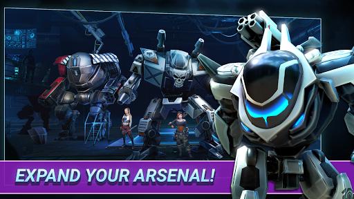 Fusion Guards: Idle Robots Mech War Tech Battle 1.0.9 pic 2