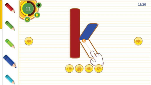 Learn To Write Letters / Alphabet ABC For Kids screenshots 8