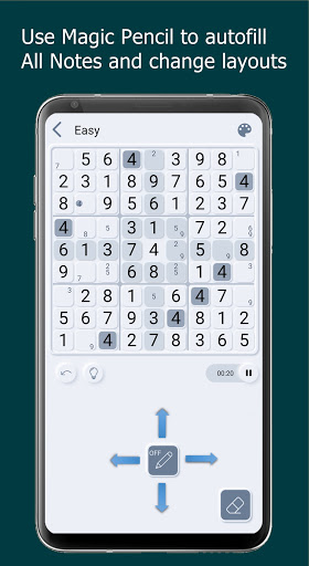 Sudoku Cards - Free Offline Puzzle Game android2mod screenshots 6