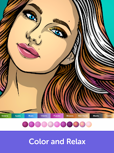 Recolor: Adult Coloring Book - Color and Relax Screenshot