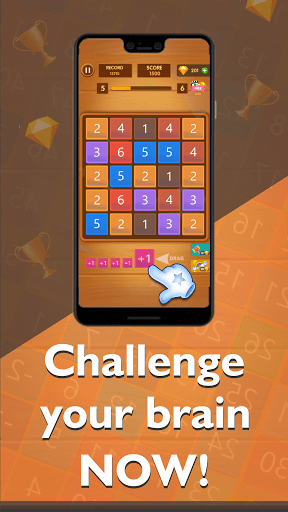 Merge Digits - Puzzle Game 1.0.3 screenshots 6
