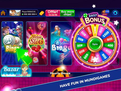 MundiGames - Slots, Bingo, Poker, Blackjack & more 1.8.20 screenshots 9