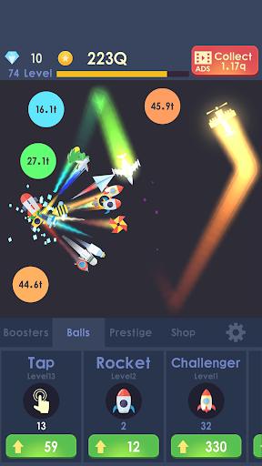 Idle Rocket - Aircraft Evolution & Space Battle  screenshots 3