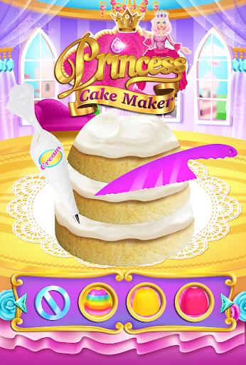 Rainbow Princess Cake Maker - Kids Cooking Games  screenshots 2
