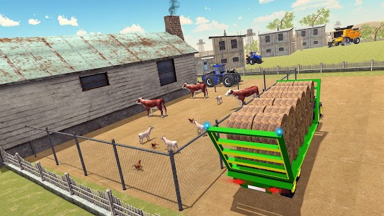 Real Tractor Farming Game 2020 Apk 3