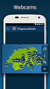 SRF Meteo - Wetter Prognose Schweiz 2.12 Screenshots 7