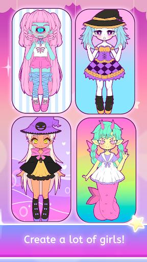 Mimistar - Pastel chibi doll girl dress up maker  screenshots 12