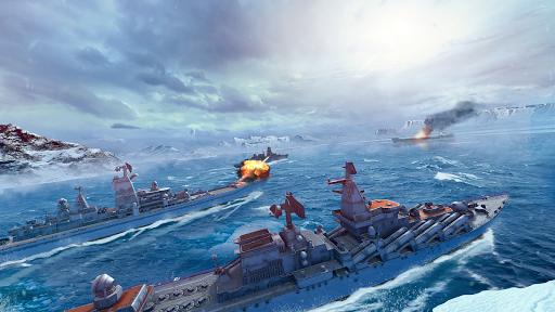 Télécharger Naval Armada: Navire de guerre et bataille navale APK MOD (Astuce) screenshots 1