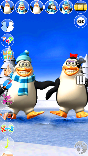 Talking Pengu & Penga Penguin - Virtual Pet modiapk screenshots 1