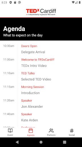 TEDx Cardiff  screenshots 2