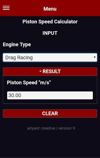 four 4 two 2 stroke engine speed limit calculator screenshot 3