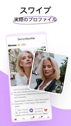 SeniorMeetMe – 50歳以上の大人のマッチングアプリのおすすめ画像1