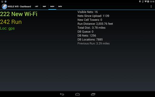 WiGLE WiFi Wardriving apktram screenshots 12