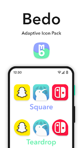 Bedo Adaptive Icon Pack APK (PAID) Download Latest 3