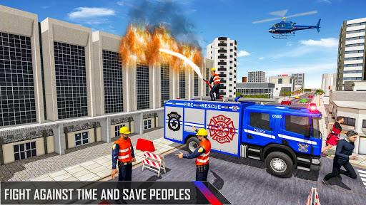 Police Ambulance Fire Truck Simulator 2021  screenshots 4