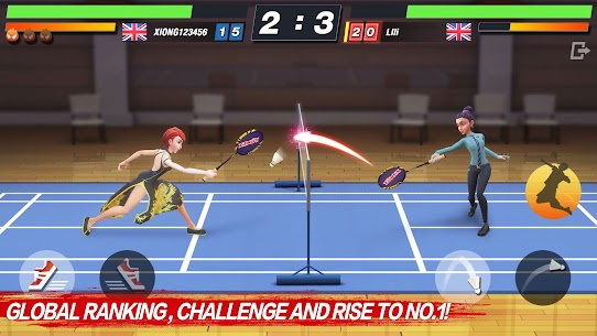 Badminton Blitz – Free PVP Online Sports Game Apk Mod + OBB/Data for Android. 1