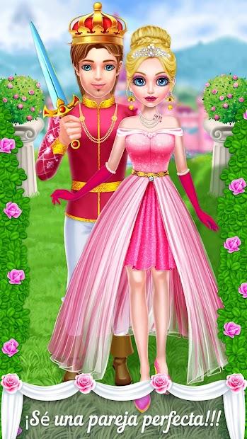 Captura de Pantalla 4 de princesa boda historia de amor para android