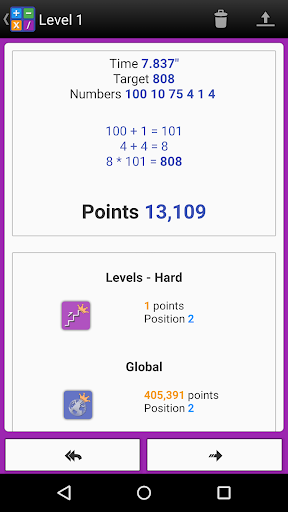 Numbers Game! 6 Countdown Math apkdebit screenshots 23