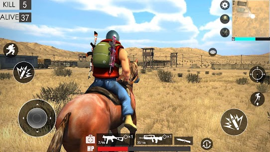 Desert survival shooting game 4