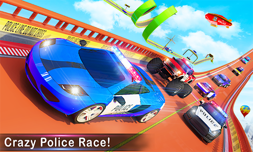 Police Ramp Car Stunts GT Racing Car Stunts Game apktreat screenshots 1