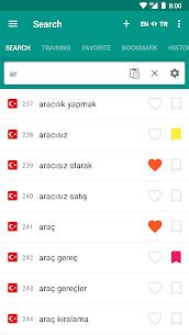 English-turkish & Turkish-english dictionary Pro Cracked APK 5