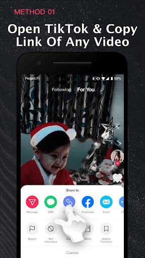 Video Downloader  No Watermark - SnapTik android2mod screenshots 2