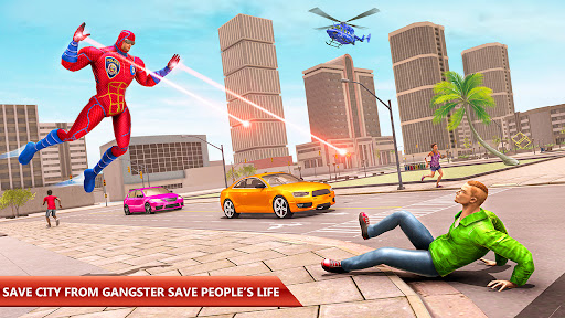 Police Robot Rope Hero Game 3d android2mod screenshots 9