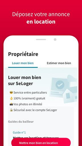 SeLoger - achat, vente et location immobilier apktram screenshots 3